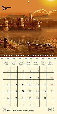 Fantasy World Mausopardia (Wall Calendar 2019 300 × 300 mm Square) - Produktdetailbild 8