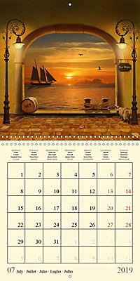Fantasy World Mausopardia (Wall Calendar 2019 300 × 300 mm Square) - Produktdetailbild 7