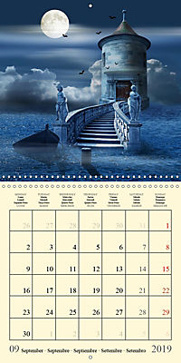 Fantasy World Mausopardia (Wall Calendar 2019 300 × 300 mm Square) - Produktdetailbild 9