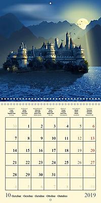 Fantasy World Mausopardia (Wall Calendar 2019 300 × 300 mm Square) - Produktdetailbild 10