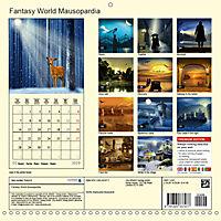 Fantasy World Mausopardia (Wall Calendar 2019 300 × 300 mm Square) - Produktdetailbild 13
