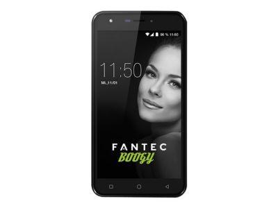 FANTEC BOOGY Smartphone 13,97cm 5,5Zoll HD IPS Display QuadCore 1,3GHz 16GB 8MP Kam. 5MP Frontkam. Android 7.0 DualSIM 2800mAh Akku
