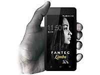 FANTEC LIMBO Smartphone 12,7cm 5Zoll QuadCore 1,3GHz 16GB 8MP Kam. 5MP Frontkam. Android 7.0 DualSIM 2200mAh Akku AluRuecks. schwarz - Produktdetailbild 4
