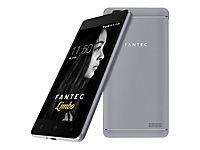 FANTEC LIMBO Smartphone 12,7cm 5Zoll QuadCore 1,3GHz 16GB 8MP Kam. 5MP Frontkam. Android 7.0 DualSIM 2200mAh Akku AluRuecks. grau - Produktdetailbild 4