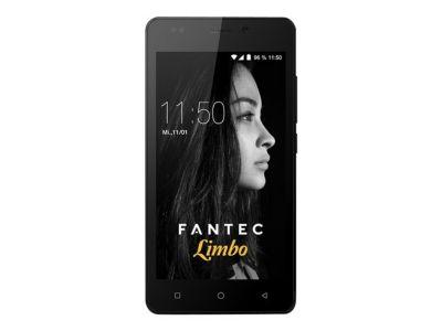 FANTEC LIMBO Smartphone 12,7cm 5Zoll QuadCore 1,3GHz 16GB 8MP Kam. 5MP Frontkam. Android 7.0 DualSIM 2200mAh Akku AluRuecks. grau