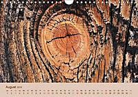 Farben des Holzes (Wandkalender 2019 DIN A4 quer) - Produktdetailbild 8