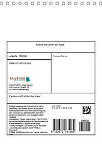 Farben und Lichter - der Natur (Tischkalender 2019 DIN A5 hoch) - Produktdetailbild 13
