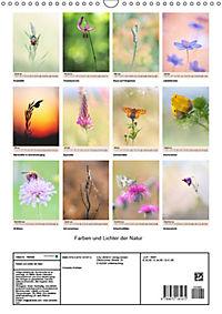 Farben und Lichter - der Natur (Wandkalender 2019 DIN A3 hoch) - Produktdetailbild 13