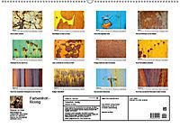 Farbenfroh - Rostig (Wandkalender 2019 DIN A2 quer) - Produktdetailbild 13