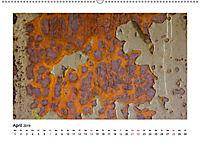 Farbenfroh - Rostig (Wandkalender 2019 DIN A2 quer) - Produktdetailbild 4