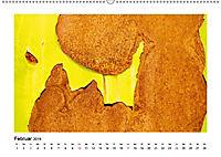 Farbenfroh - Rostig (Wandkalender 2019 DIN A2 quer) - Produktdetailbild 2
