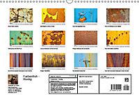 Farbenfroh - Rostig (Wandkalender 2019 DIN A3 quer) - Produktdetailbild 12