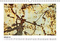 Farbenfroh - Rostig (Wandkalender 2019 DIN A4 quer) - Produktdetailbild 1