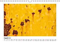 Farbenfroh - Rostig (Wandkalender 2019 DIN A4 quer) - Produktdetailbild 8