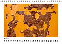 Farbenfroh - Rostig (Wandkalender 2019 DIN A4 quer) - Produktdetailbild 6