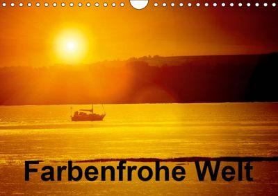 Farbenfrohe Welt (Wandkalender 2019 DIN A4 quer), Gabriela Wernicke-Marfo