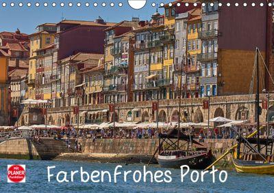 Farbenfrohes Porto (Wandkalender 2019 DIN A4 quer), Mark Bangert