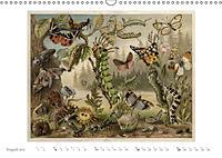 Farbenprächtige Fauna. Fische, Vögel, Schmetterlinge in Grafiken des 19 Jahrhunderts (Wandkalender 2019 DIN A3 quer) - Produktdetailbild 8