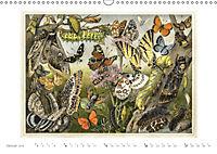 Farbenprächtige Fauna. Fische, Vögel, Schmetterlinge in Grafiken des 19 Jahrhunderts (Wandkalender 2019 DIN A3 quer) - Produktdetailbild 1
