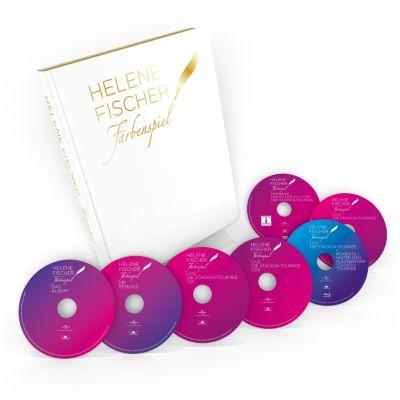 Farbenspiel Live - Die Stadion-Tournee (4 CDs, 2 DVDs, Blu-ray + limitierter Bildband mit den größten Momenten von 2013-2015), Helene Fischer