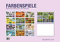Farbenspiele Premiumkal. 2018 - Produktdetailbild 13