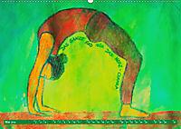Farbige Yoga Kraftwelt - Yoga Asanas für die Chakren (Wandkalender 2019 DIN A2 quer) - Produktdetailbild 5