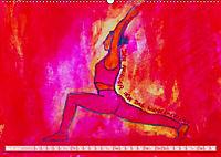 Farbige Yoga Kraftwelt - Yoga Asanas für die Chakren (Wandkalender 2019 DIN A2 quer) - Produktdetailbild 4