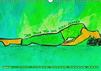 Farbige Yoga Kraftwelt - Yoga Asanas für die Chakren (Wandkalender 2019 DIN A3 quer) - Produktdetailbild 1