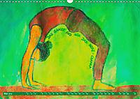 Farbige Yoga Kraftwelt - Yoga Asanas für die Chakren (Wandkalender 2019 DIN A3 quer) - Produktdetailbild 5