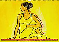 Farbige Yoga Kraftwelt - Yoga Asanas für die Chakren (Wandkalender 2019 DIN A3 quer) - Produktdetailbild 7
