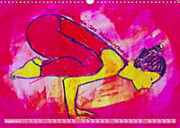 Farbige Yoga Kraftwelt - Yoga Asanas für die Chakren (Wandkalender 2019 DIN A3 quer) - Produktdetailbild 8