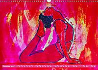 Farbige Yoga Kraftwelt - Yoga Asanas für die Chakren (Wandkalender 2019 DIN A3 quer) - Produktdetailbild 12