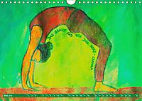 Farbige Yoga Kraftwelt - Yoga Asanas für die Chakren (Wandkalender 2019 DIN A4 quer) - Produktdetailbild 5