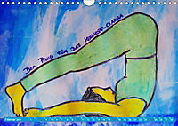 Farbige Yoga Kraftwelt - Yoga Asanas für die Chakren (Wandkalender 2019 DIN A4 quer) - Produktdetailbild 2