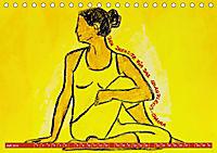 Farbige Yoga Kraftwelt - Yoga Asanas für die Chakren (Tischkalender 2019 DIN A5 quer) - Produktdetailbild 7