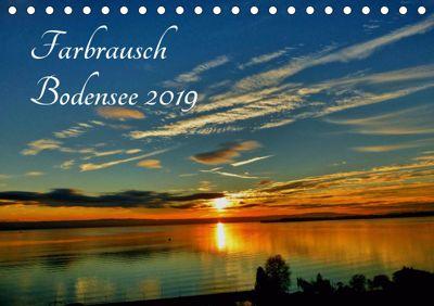 Farbrausch Bodensee (Tischkalender 2019 DIN A5 quer), Sabine Brinker