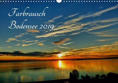 Farbrausch Bodensee (Wandkalender 2019 DIN A3 quer), Sabine Brinker