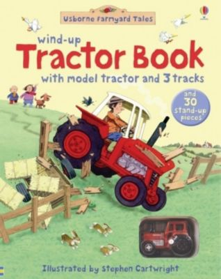 Farmyard Tales Wind Up Tractor Book, Heather Amery, Gillian Doherty, Stephen Cartwright