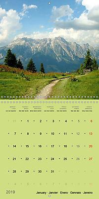Fascinating Austria - Mountains and Lakes (Wall Calendar 2019 300 × 300 mm Square) - Produktdetailbild 1