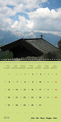 Fascinating Austria - Mountains and Lakes (Wall Calendar 2019 300 × 300 mm Square) - Produktdetailbild 5