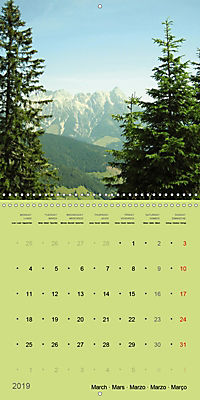 Fascinating Austria - Mountains and Lakes (Wall Calendar 2019 300 × 300 mm Square) - Produktdetailbild 3