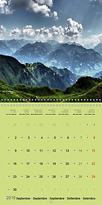 Fascinating Austria - Mountains and Lakes (Wall Calendar 2019 300 × 300 mm Square) - Produktdetailbild 9