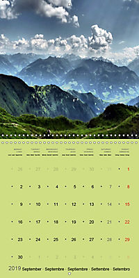 Fascinating Austria - Mountains and Lakes (Wall Calendar 2019 300 × 300 mm Square) - Produktdetailbild 9