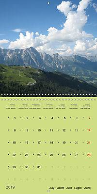 Fascinating Austria - Mountains and Lakes (Wall Calendar 2019 300 × 300 mm Square) - Produktdetailbild 7