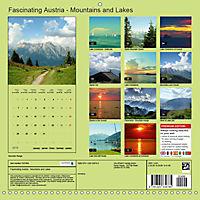 Fascinating Austria - Mountains and Lakes (Wall Calendar 2019 300 × 300 mm Square) - Produktdetailbild 13