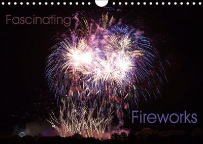 Fascinating Fireworks (Wall Calendar 2019 DIN A4 Landscape), Frank Gärtner - franky242 photography