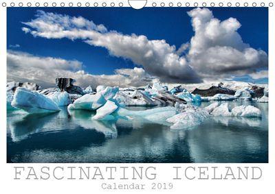 Fascinating Iceland - Calendar 2019 / UK-Edition (Wall Calendar 2019 DIN A4 Landscape), Dirk Vonten