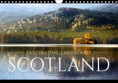 FASCINATING LANDSCAPES SCOTLAND (Wall Calendar 2019 DIN A4 Landscape), Dorit Fuhg