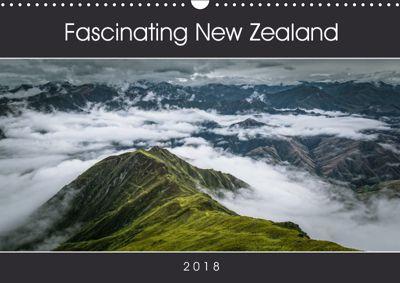 Fascinating New Zealand (Wall Calendar 2019 DIN A3 Landscape), Mario Pr8cht