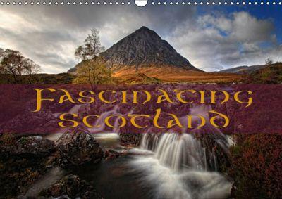 Fascinating Scotland / UK-Version (Wall Calendar 2019 DIN A3 Landscape), Martina Cross